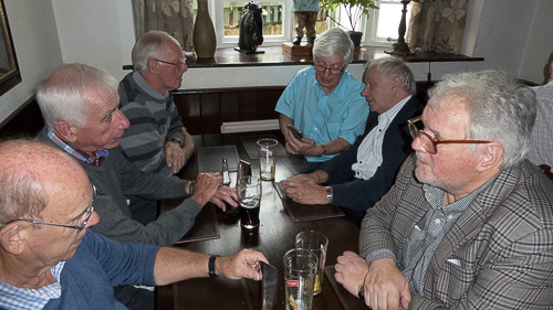 Ed Wooden, Neil Pittaway, Ieuan Thomas, Stan Pow, Geoff Higgs & Bob Trimmer